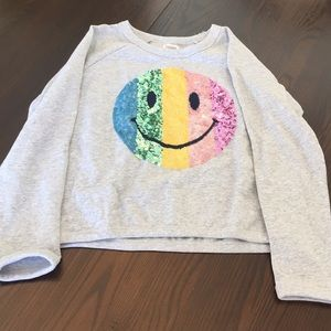 Girls sweater shirt